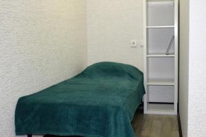 Кровать или кровати в номере Apartment on Fokina 195