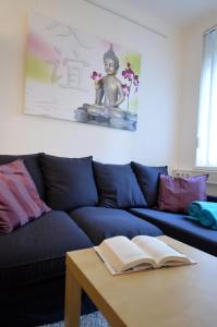 A seating area at Appartement Döbling
