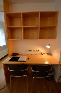 A kitchen or kitchenette at Appartement Döbling