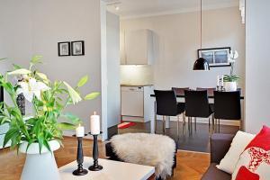 Ein Sitzbereich in der Unterkunft Apartments VR40