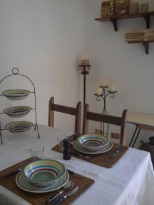A kitchen or kitchenette at A Casa Di Gio