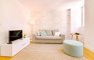 Uma área de estar em Alfama by Lisbon Inside Out