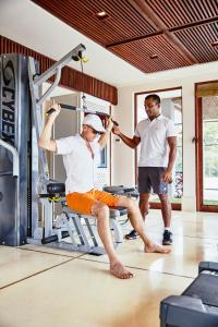 The fitness center and/or fitness facilities at ANI Private Resorts Sri Lanka