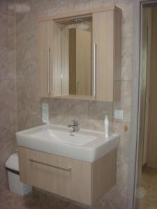 Koupelna v ubytování Apartmán Kurdějov