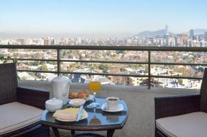 Un balcón o terraza de Norus Apartments Las Condes
