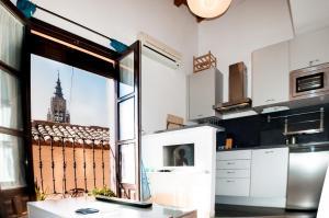 A kitchen or kitchenette at Toledo Ap
