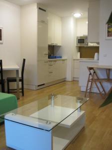 Een keuken of kitchenette bij Vienna DC Living Apartment with parking on premise