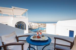 A balcony or terrace at Agnadi Villa