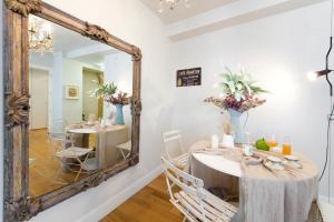 Chardonnay Apartmentにあるレストランまたは飲食店