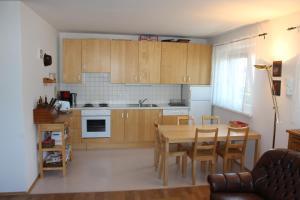 Küche/Küchenzeile in der Unterkunft Haus Möllenhoff