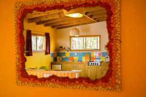 Loungen eller baren på Hopi Cadushi Studio