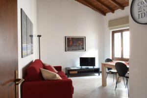 The lounge or bar area at Filippini 24