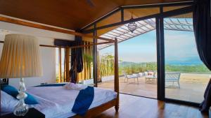 A room at Crystal Villas