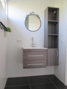 A bathroom at Klein Zeeduin