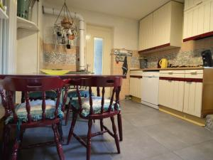 The lounge or bar area at Spacious Holiday Home with Sauna in Celles-sur-Plaine