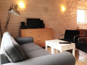 Coin salon dans l'établissement Vakantiehuis in het centrum van Domburg