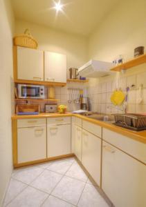 Küche/Küchenzeile in der Unterkunft Haus Sonnenruh