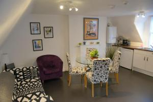 A seating area at The Loft