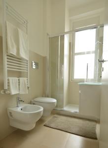 A bathroom at Appartamento Tortona Navigli
