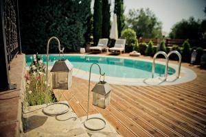 The swimming pool at or near Anassa Villas
