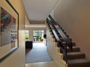 The lobby or reception area at Medina Serviced Apartments North Ryde Sydney