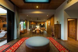 The lobby or reception area at Villa Nadya - 3 Bedroom Pool Villa
