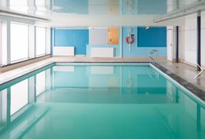 The swimming pool at or near StudioWestdiep