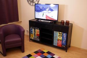 TV/Unterhaltungsangebot in der Unterkunft Art City Studio Kassel 7
