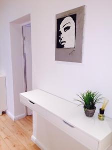 Ein Badezimmer in der Unterkunft Badstraße Apartments
