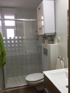 A bathroom at Portalegre