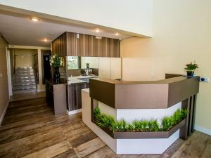 The lobby or reception area at Residencial Villa Lobos
