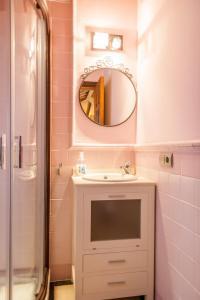 Ett badrum på Villa Canovas Vista Lara