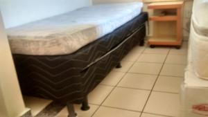A bed or beds in a room at Apartamento Di Roma 809 A