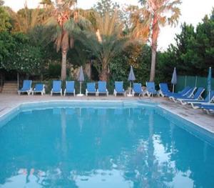 The swimming pool at or close to Nicki Holiday Resort