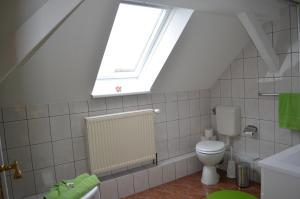 Ein Badezimmer in der Unterkunft Ferienwohnung Gänseblümchen