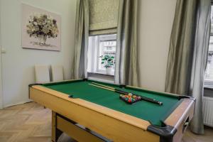 Ein Billardtisch in der Unterkunft Ruterra Apt with Sauna and Billiards