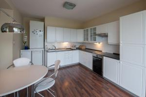 A kitchen or kitchenette at Czech Family Home