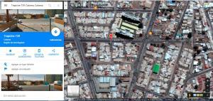 Uma vista aérea de Apartamentos Norte Grande