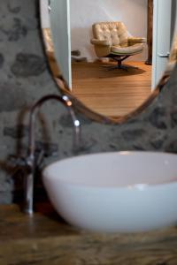 A bathroom at Ferienwohnung Schwert
