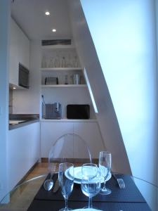 A kitchen or kitchenette at Tower Lights