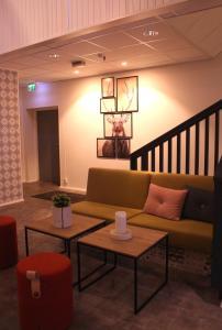 Area soggiorno di Trudvang Apartment Hotel