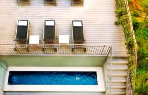 A view of the pool at Barcelona Apartment Aramunt or nearby