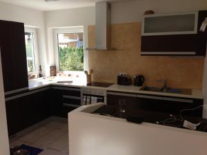 Küche/Küchenzeile in der Unterkunft Ferienhaus am Pillersee