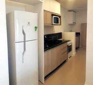 Una cocina o zona de cocina en Apartamento Ingleses Norte