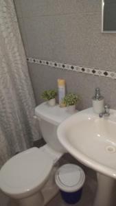 Un baño de Casa Equeños