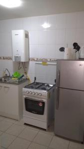 Una cocina o zona de cocina en Casa Equeños