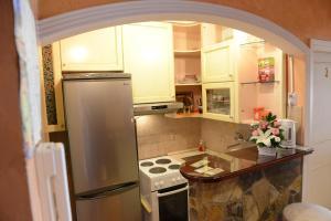Кухня или мини-кухня в Apartment Modus