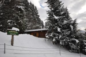 Chalet Edelweiss during the winter