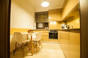 A kitchen or kitchenette at Cluj Business Class