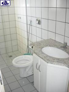 A bathroom at Sol das Caldas